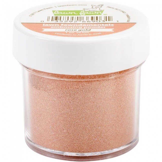 Poudre d'embossing - Rose Gold