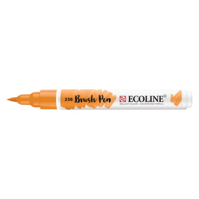 Feutre Ecoline Brush Pen 236 Orange Clair
