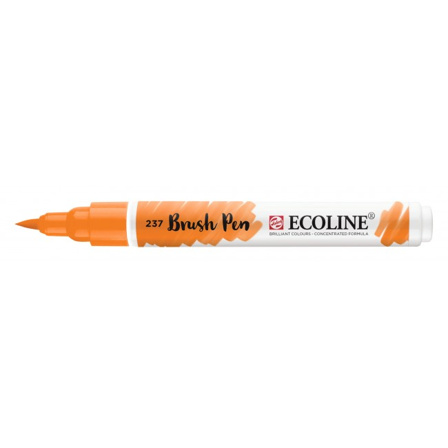 Feutre Ecoline Brush Pen 237 Orange Foncé