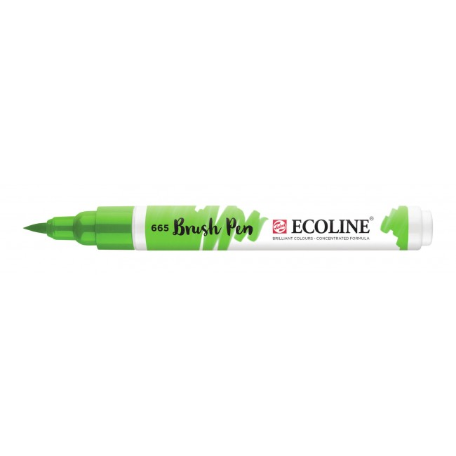 Feutre Ecoline Brush Pen 665 Vert Printemps