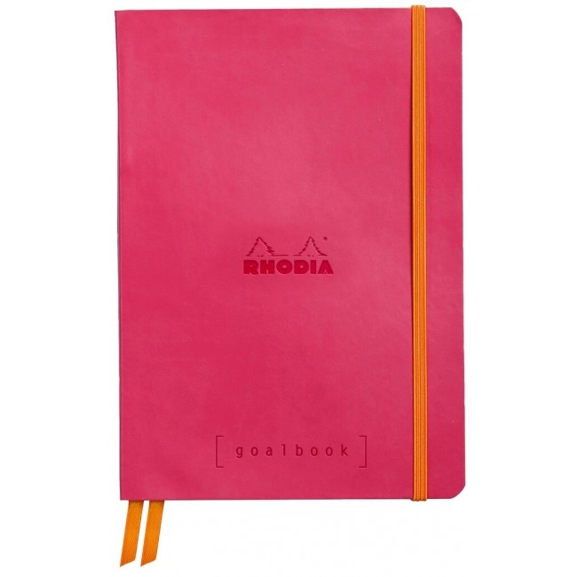 Cahier à Points A5 Rhodia GoalBook - Framboise
