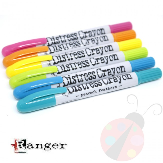 Set Distress Crayons #1