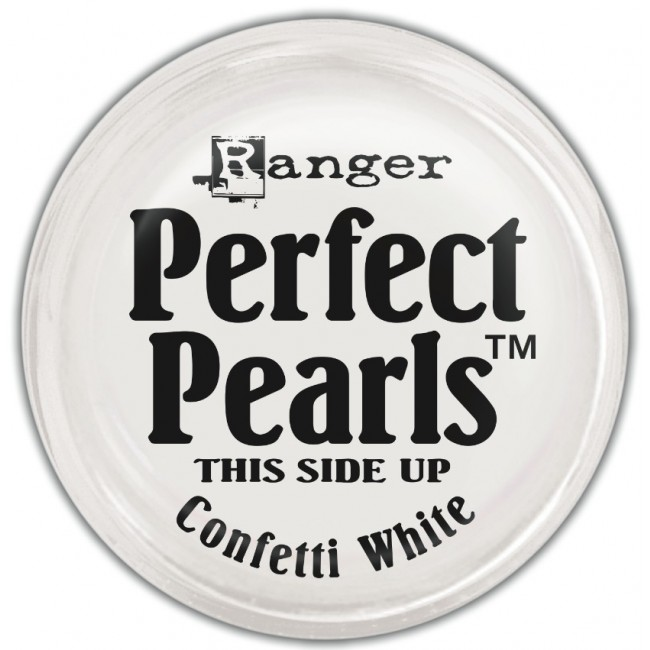 Poudre Perfect Pearls Confetti White
