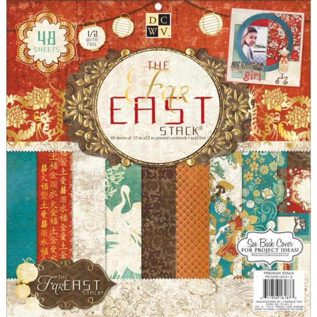 Stack Papiers Imprimés 12x12 The Far East 2