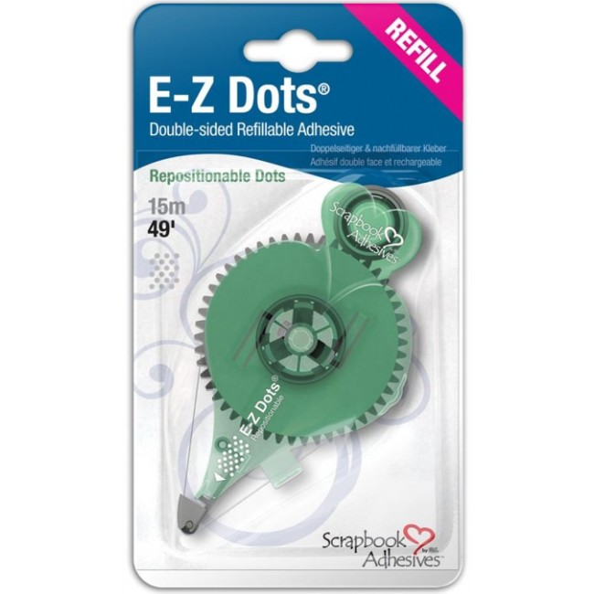 Recharge E-Z Runner Dots Repositionnable
