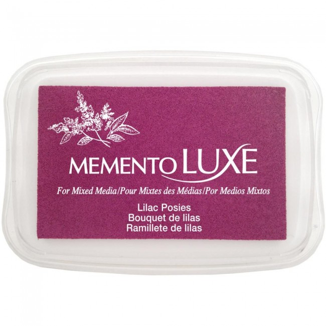 Encre Memento Luxe Lilac Posies