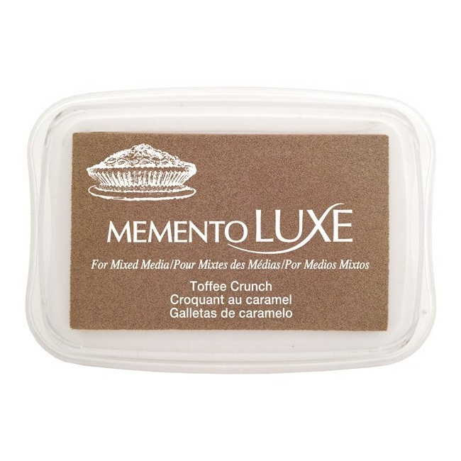 Encre Memento Luxe Toffee Crunch