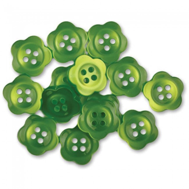 Boutons Blooms Lime