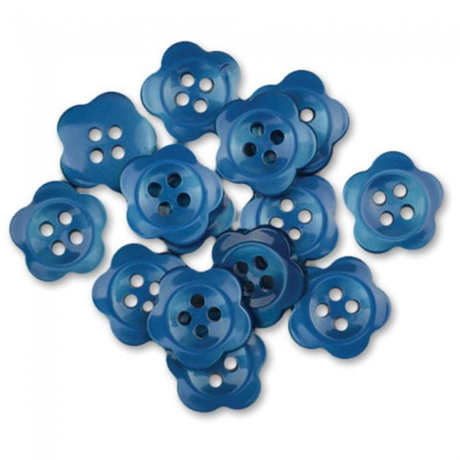 Boutons Blooms Blue