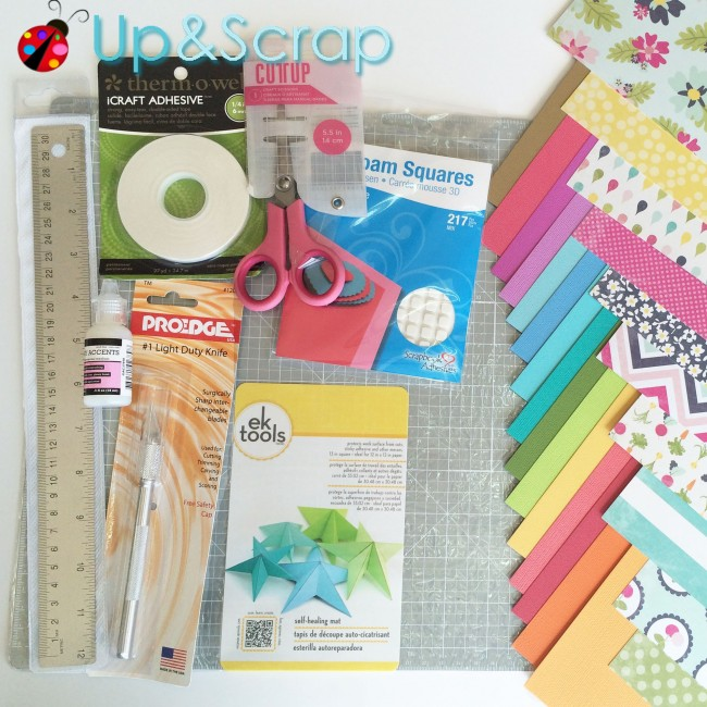 Kit Initiation au Scrapbooking