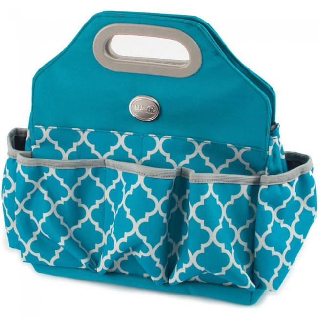 Crafters Tote Bag Turquoise