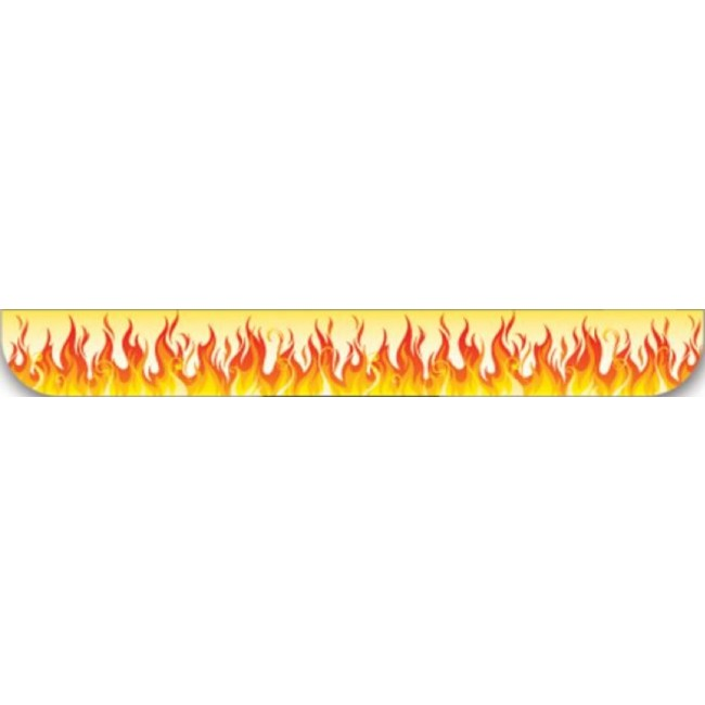 Washi Tape Flames