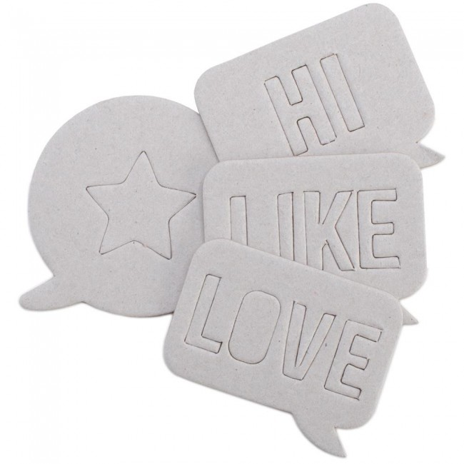 Chipboard What Speech Bubbles