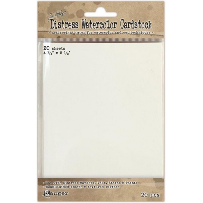 Distress Watercolor Cardstock 4,25x5,5