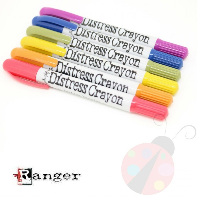 Set Distress Crayons #2