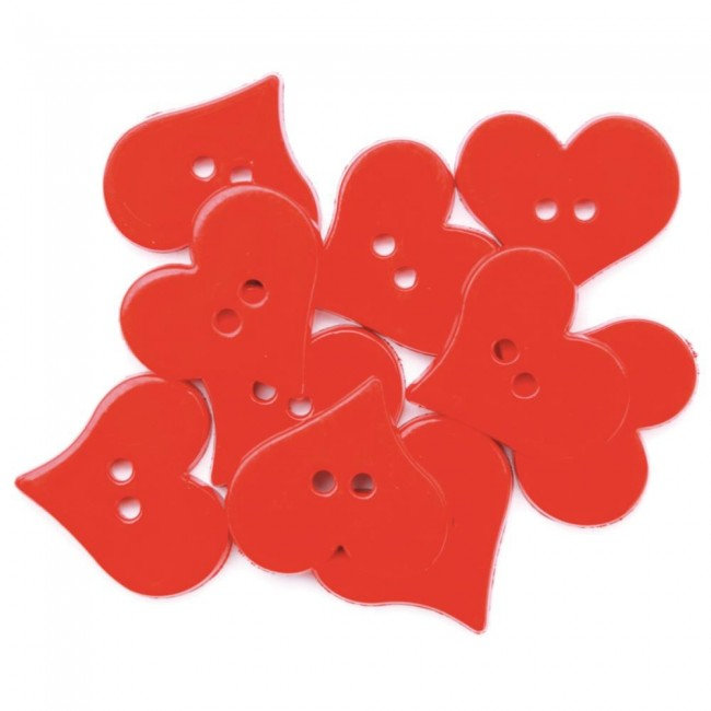 Boutons Valentines Hearts
