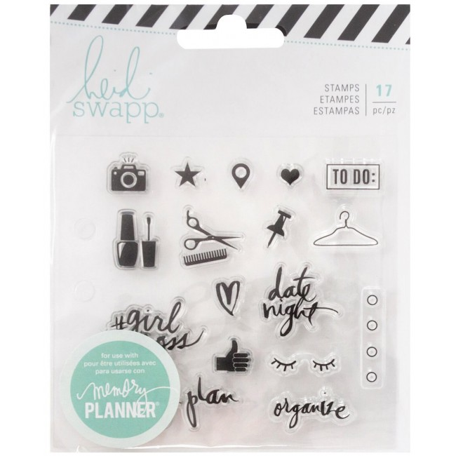 Tampon Acrylique Memory Planner Fresh Start - Everyday