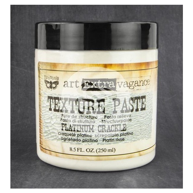 Texture Paste Platinum Crackle 8.5 oz
