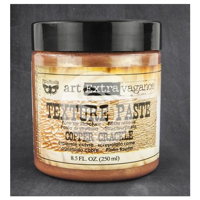 Texture Paste Copper Crackle 8.5 oz
