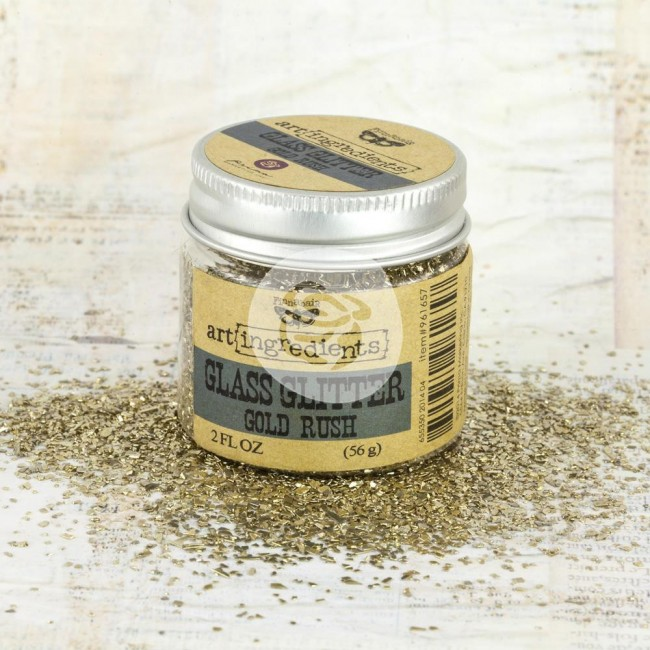 Glass Glitter Gold Rush 2 oz