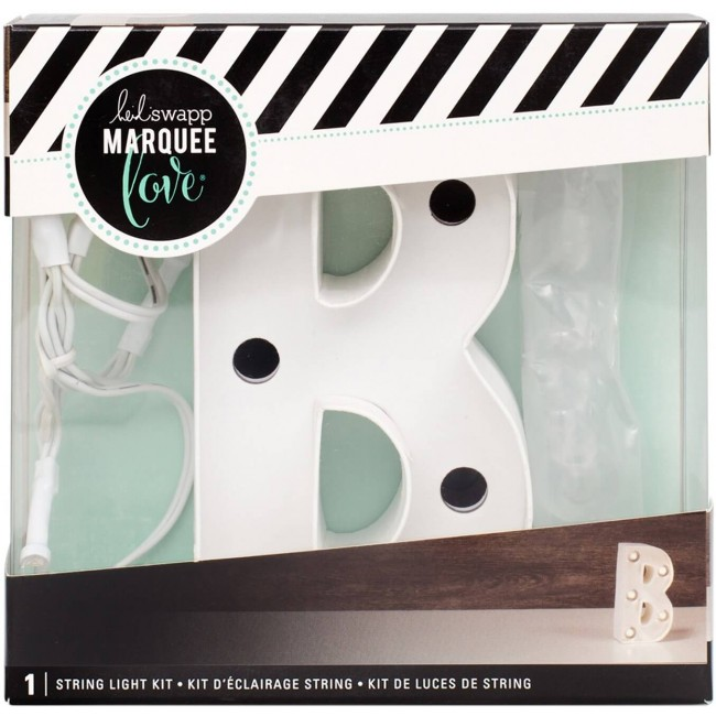 "Lettre Marquee Love 4"" B"