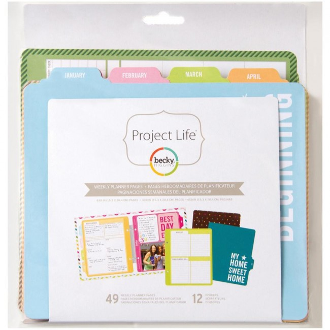 """Weekly Planner Pages 6"""" x 8"""" -30% PROMO"""