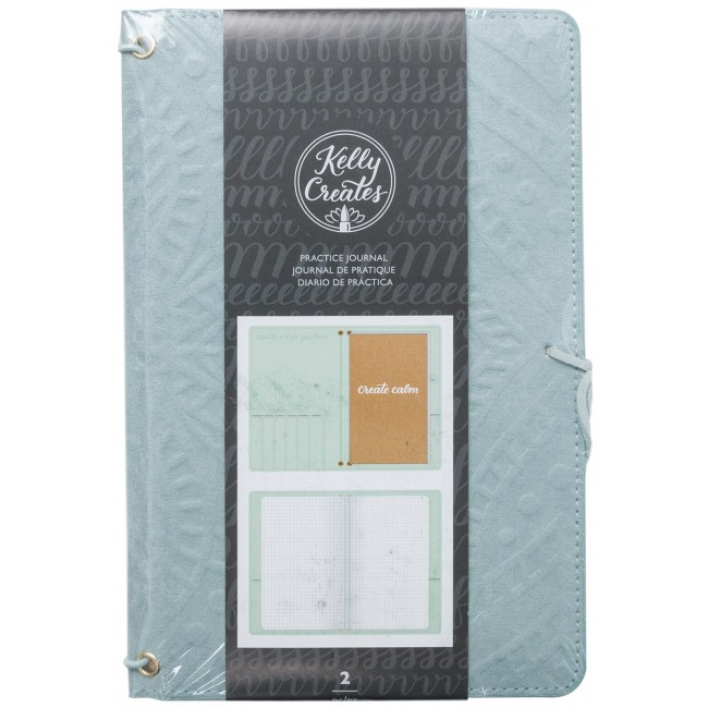 Journal de Pratique Kelly Creates - Teal