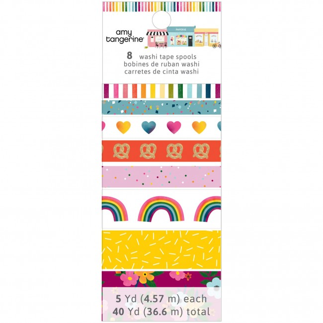 Lot de Washi Tape Slice Of Life Amy Tangerine