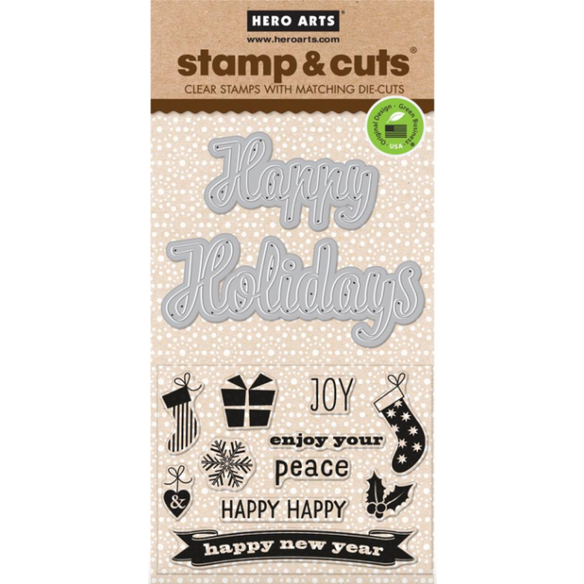Stamp and Cut Fancy Cut Holidays