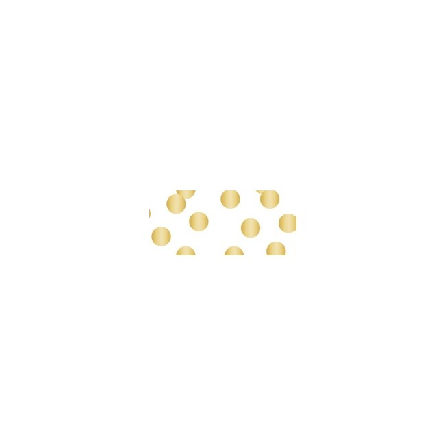 Gold Scatter Dot Fabric Tape