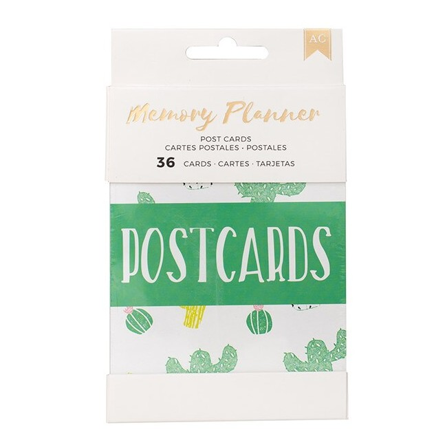 Cartes postales Memory Planner - Small Postcards