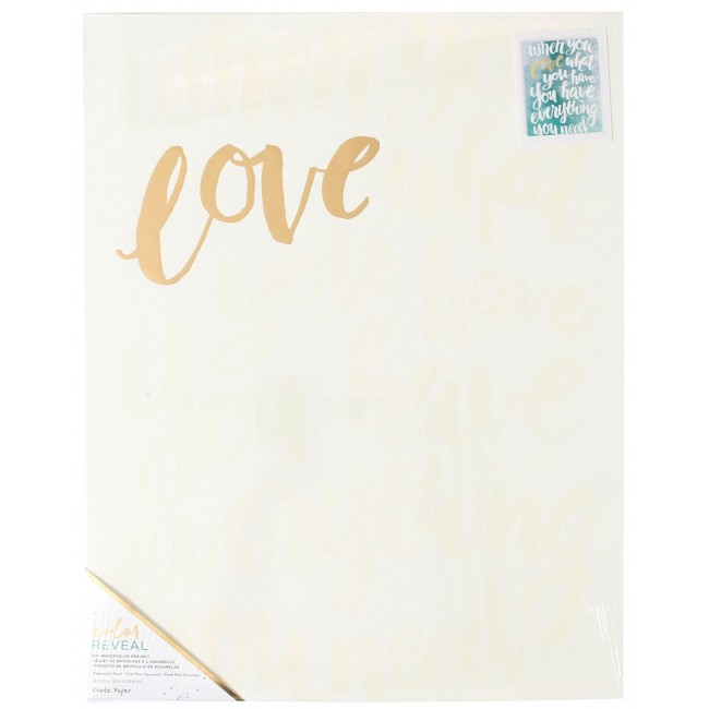 Toile 16x20 Color Reveal - When You Love