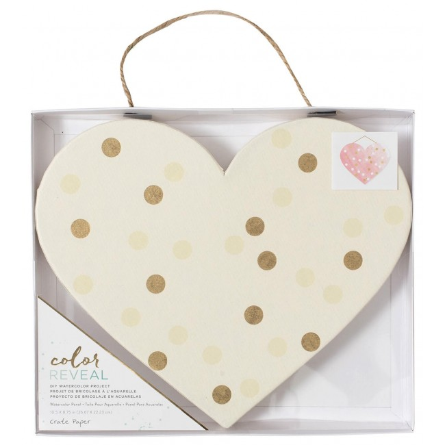 Toile Color Reveal - Heart Dots