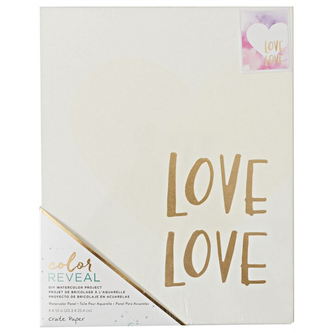 Toile 8x10 Color Reveal - Love Love