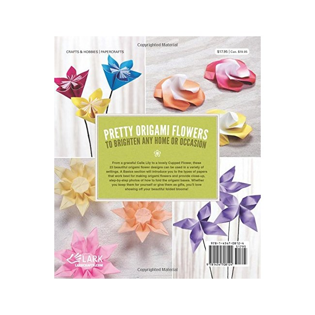 Livre Beautiful Origami Flowers