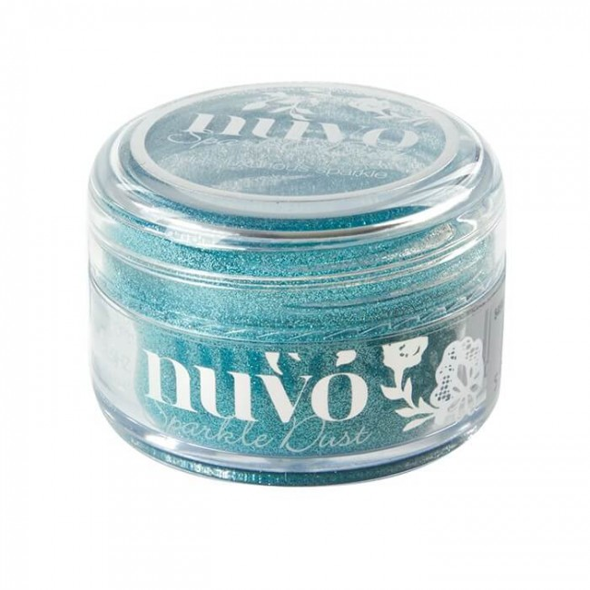 Paillettes Ultra fines Sparkle Dust - Paradise Blue
