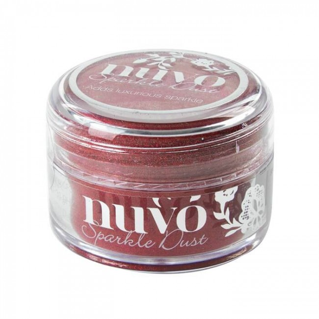 Paillettes Ultra fines Sparkle Dust - Hollywood Red
