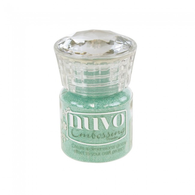 Poudre d'embossing Nuvo - Cool Jade