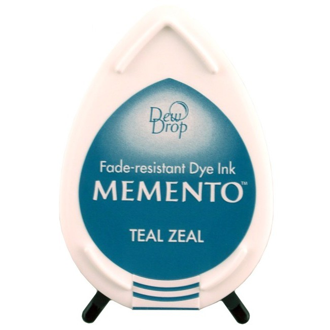 Encre Memento Dew Drop Teal Zeal