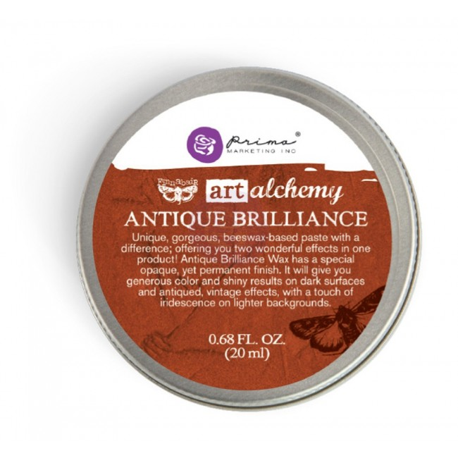 Cire Brilliance Wax - Red Amber