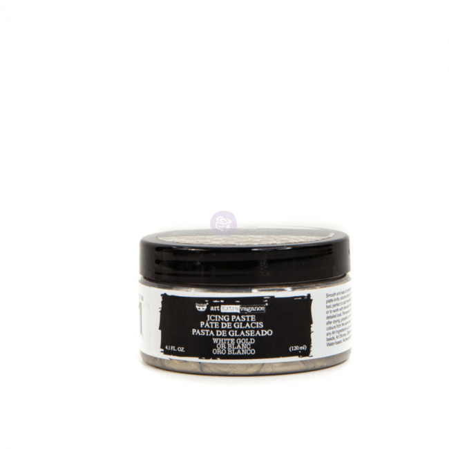Pâte de Texture Icing Paste White Gold