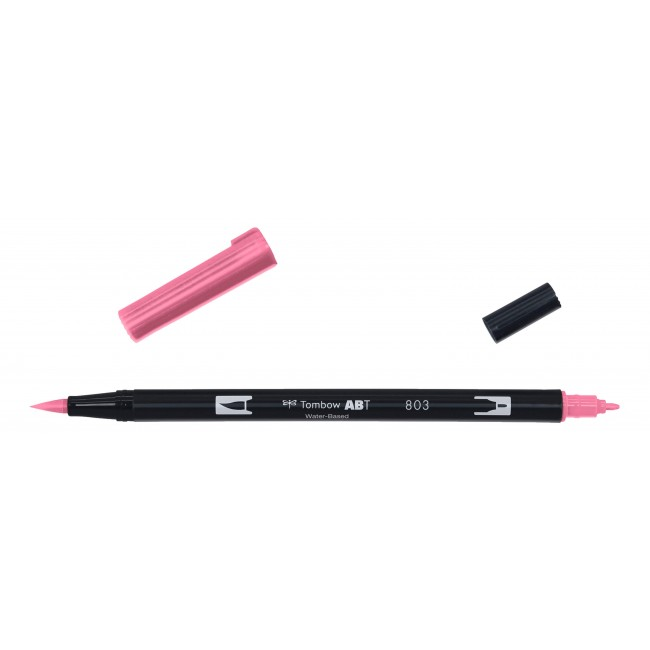 Feutre Tombow Dual Brush 803 Pink Punch