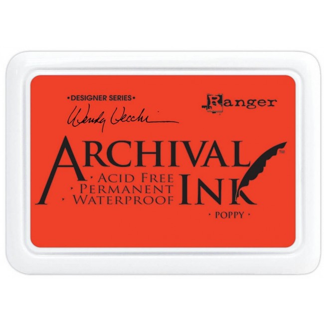 Encre Archival Ink Poppy