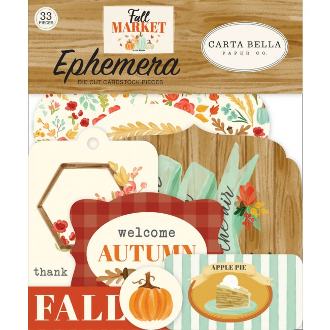 Die Cuts Fall Market Icons