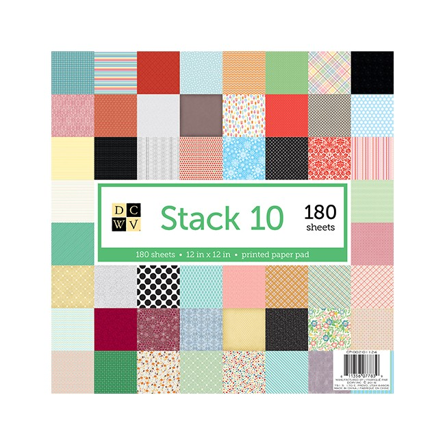 Stack 180 Papiers Stack 10