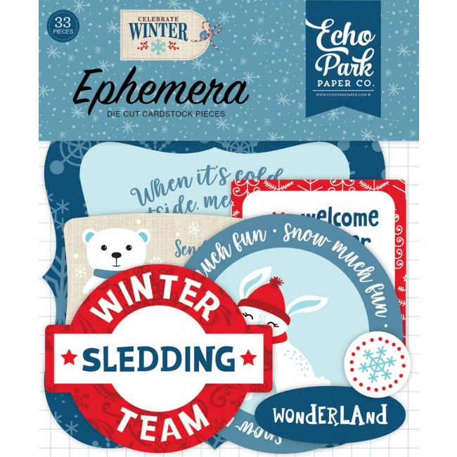 Die Cuts Celebrate Winter Icons