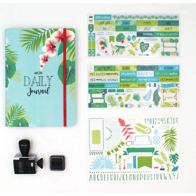 Bullet Journal Kit Exotique