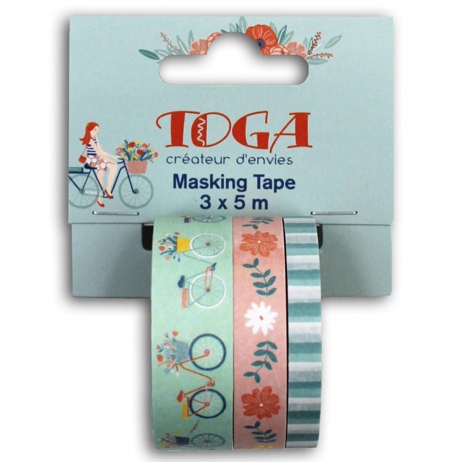 Lot de Washi Tape Oh La La