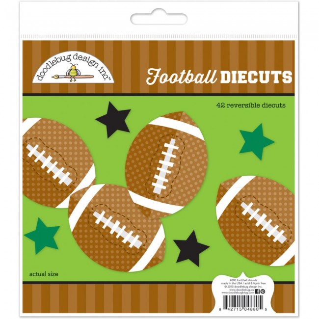 Football Diecuts