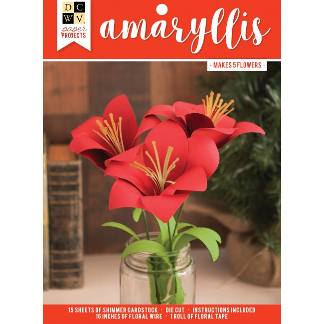 Paper Projects - Amaryllis